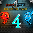 Fireboy and Watergirl 4 in The Crystal Temple
