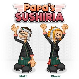 Papa S Sushiria Juegos Friv